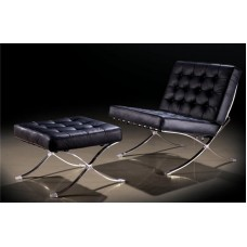 Комплект БАРСЕЛОНА кресло и оттоманка