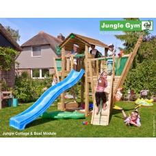 Детская площадка Jungle Cabin + Boat Module