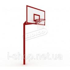 Баскетбольная стойка профессиональная без сетки SO006