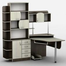 Стол компьютерный Тиса-08 (кромка меламин+ПВХ)