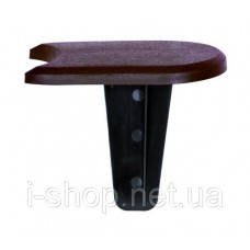 Комплект палисада Flat, коричневый, 1,9 м