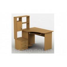 Стол компьютерный Тиса-01 (кромка меламин+ПВХ) меламин