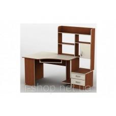 Стол компьютерный Тиса-02 (кромка меламин+ПВХ) меламин
